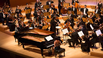 #7 Benefit The 2017/2018 season kicked off with Mozart-theme gala last September. Led by Los Angeles Philharmonic music and artistic director Gustavo Dudamel, the evening drew guests such as Mayor Eric Garcetti. Proceeds from the event support the L.A. Phil's music education programs, serving more than 150,000 kids, families, and teachers each year. Next: September 27, 2018