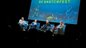 #6 Film & Media Event David Owen, Cole Stratton, and Janet Varney started SF Sketchfest in 2001 as a way to showcase the talents of Bay Area sketch comedy groups. The event debuted in 2002 and has grown into a nationally recognized comedy festival, mixing household names and up-and-comers. Featuring stand-up, improv/sketch groups, solo shows, and musical acts, Sketchfest gives audiences the chance to see performers like Jane Lynch, Rachel Bloom, and Ricky Gervais in intimate settings and discussions. Next: January 2019