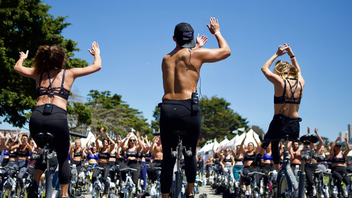 #11 Sports Event (new to the list) An outdoor fitness festival set on smashing body insecurities, We Dare to Bare participants sign up for satellite sessions of San Francisco's best fitness offerings—like SoulCycle, Barry's Bootcamp, TRX, and Confidance—and work out in their sports bras during this one-day event. In addition to sweating in the sunshine, attendees get snacks, pampering, and photo booth memories. Registrants are also encouraged to meet a fund-raising goal for Movemeant Foundation programs; in 2018, more than 800 women raised over $185,000 at the event. Next: May 2019