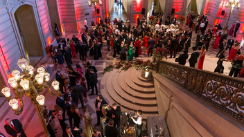 #7 Benefit (up from #9) The gala moved from the Julia Morgan Ballroom to San Francisco City Hall in 2018 and celebrated the new venue with a party for the ages. The event is an opportunity to recognize Red Cross volunteers and the communities they serve, and the 430-person-strong crowd enthusiastically supported the organization by raising more than $1 million for relief efforts. Model Devon Aoki joined actors James Van Der Beek and Mehcad Brooks—along with a red-clad sea of Bay Area do-gooders—for the after-party set from Grammy-nominated DJ and producer Steve Aoki. Next: March 23, 2019