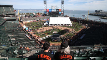 #7 Sports Event Supporting the Giants when they're enjoying their even-year-World-Series winning streak is easy, but 30,000 true fans queue up to meet the boys in black and orange each winter, win or lose. At KNBR's Fan Fest, players and fans rub elbows, sign autographs, and pose for selfies at AT&T Park before the team heads to Arizona for spring training. Those hoping to get face time with the likes of Hunter Pence, Pablo Sandoval, and Buster Posey show up early; autograph lines at FanFest can be almost as scary as Brian Wilson's beard. Next: February 9, 2019