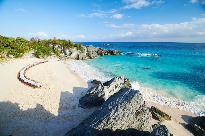 Host a gathering unlike any other on Bermuda's pink-sand beaches.