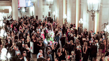 #4 Benefit Ball gowns, feasts, jewels, dancing—the Opera Ball is almost as grand as the performance itself. The 96th season opener in 2018 will boast the traditional McCall's-catered dinner and a double bill of one-act operas: Pietro Mascagni's Cavalleria Rusticana and Ruggero Leoncavallo's Pagliacci. But the evening is not all about vibrato and divas: After the stage lights dim, guests cross the street to the after-party at City Hall, where they dance the night away with the cover band, Pop Rocks. Proceeds from the seven-figure party benefit the San Francisco Opera Association and Opera Guild's education and community programs. Next: September 7, 2018