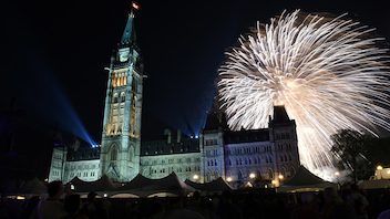 Ottawa #6 Festival & Parade (new to the list) Numbers were down in 2018 due to 2017's amped up 'Canada 150' celebrations and a heat wave in the capital. About 250,000 patriotic people visited the city and 48,000 attended festivities on Parliament Hill. New this year: celebrations started one day early, with family events and circus shows at Major's Hill Park. Sponsors included President's Choice and Tim Hortons. Next: July 1, 2019