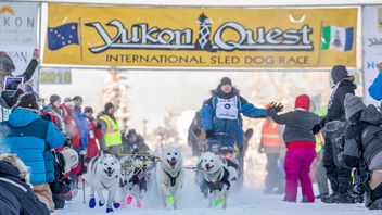 Whitehorse, Yukon #9 Sports Event From Whitehorse, Yukon, to Fairbanks, Alaska The field in the 1,600-kilometre (1,000-mile) dogsled race grew to 26 mushers in 2018, including at least three representing the second generation in their family to take on the wintertime challenge. The City of Fairbanks and Tourism Yukon remained the lead sponsors. Next: February 2, 2019