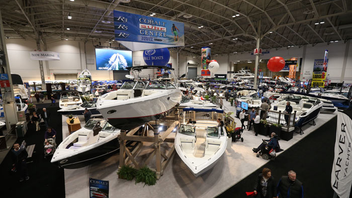 Toronto #3 Trade Show & Convention (up from #5) Exhibitor space sold out in record time this year for the 60th anniversary of North America's largest indoor boat show, and attendance grew slightly to 77,500. The event returned to Exhibition Place's Enercare Centre and added a $5 ticket for admission after 5 p.m., and free parking after 4 p.m. on weekdays. Next: January 18-27, 2019