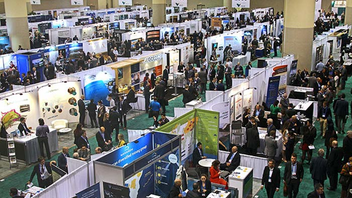 Toronto #7 Trade Show & Convention With the cyclical mining industry in an upswing, attendance grew to 25,600 in 2018, including 26 ministers of mining, 556 speakers, and Facebook Live events that garnered more than 174,000 views. Next: March 3-6, 2019