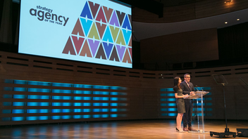 Toronto #3 Advertising & Marketing Event Koerner Hall hosted the Agency of the Year awards in 2017—and will again this year—when about 500 industry types celebrated the country's top creative, media, digital, PR, and design shops with pre- and post-show cocktails and hors d'oeuvres. Cosette won gold for the second year in a row. Next: November 1, 2018