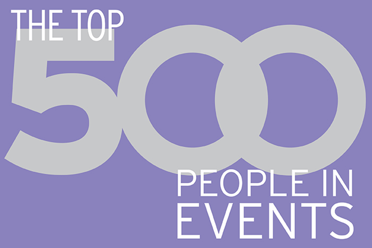 The Top 500 People in Events