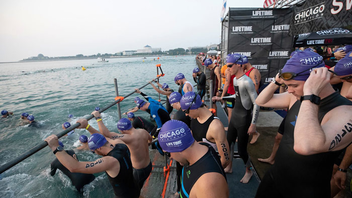 #7 Sports Event For the 36th year, the event that features swimming, biking, and running has remained one of the largest triathlons in the world, bringing in some 10,000 athletes. New in 2018 was a completely traffic-free bike course. Next: August 24-25, 2019