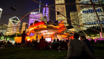 #9 Festival Chicago's jazz fest celebrated its 40th year over Labor Day Weekend. Headliners at Millennium Park included Ramsey Lewis and Orbert Davis' Chicago Jazz Philharmonic. In 2018, the event also featured youth groups Roof Top Jazz: Young Jazz Lions, and NextGenJazz. Next: Summer 2019