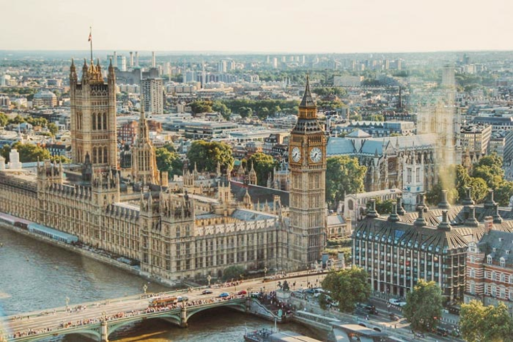 Meeting planners cited London as their favorite destination in Europe for business events.