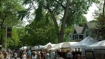 #6 Art & Architecture Event Billed as the Midwest's oldest juried art fair, the 71st annual street event returned to the Hyde Park neighborhood. The work of some 200 exhibitors is featured in everything from fine art to crafts, attracting around 20,000 visitors. Next: June 2019