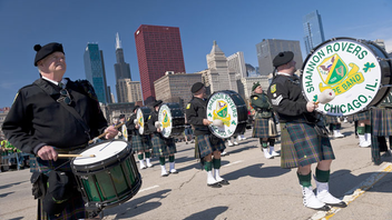 #2 Parade & Holiday Event Chicago is serious when it comes to celebrating St. Patrick's Day. Not only is the river dyed green, but thousands of people come out to view the parade that features bagpipers, Irish step dancers, floats, and marching bands. Next: March 2019