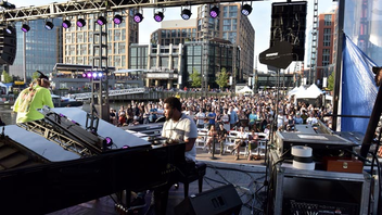 #4 Art & Entertainment Event (up from #6) D.C. JazzFest presented by Events DC bested its record-setting 2017 event by attracting even more jazz fans in 2019: Total attendance reached 82,359 patrons, with 165 events in all eight wards across 10 days in June. The festival's culminating weekend happened at the Wharf, where programming on multiple stages, educational opportunities, and pop-up performances drew in more than 28,000 attendees, a 159 percent increase from year to year. The festival kicked off with a bang when comedian Dave Chappelle joined Frédéric Yonnet on stage at City Winery during opening night. Meanwhile, original Hamilton cast member Leslie Odom Jr. filled one of D.C.'s largest music venues, The Anthem, with support from Robert Glasper's new modern jazz supergroup (R+R=NOW) and jazz funk icon Maceo Parker. Next: June 7-16, 2019