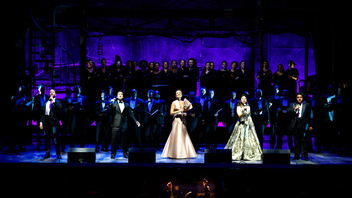 #2 Benefit This annual gala is Washington National Opera's largest fund-raiser and this year was no exception, raising nearly $1 million to advance the opera's artistic, education, and community engagement programs. A full-house crowd attended this performance, which capped off the Kennedy Center's yearlong celebration of Leonard Bernstein by enlisting famed singers like Patti LuPone, Alek Shrader, Nathan Gunn, and Isabel Leonard. The event ran with last year's format shift from a ball to a gala, hosting 400 guests for a cocktail reception on the Kennedy Center's River Terrace along with post-performance dinners hosted by ambassadors and foreign dignitaries. Next: May 18, 2019
