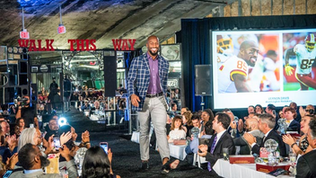 "#2 Fashion & Beauty Event Washington Redskins Vernon Davis and Chris Carter and Washington Nationals' Ryan Zimmerman walked the runway for domestic violence prevention nonprofit Becky's Fund's 10th annual charity fashion show. This year's show at the historic Uline Arena also enlisted athletes-turned-models from the Washington Mystics, D.C. United, and the Washington Spirit. The event raised more than $150,000 for ""Men of Code,"" a program that engages and educates coaches and young male athletes to become leaders and allies in the movement to end violence against women and girls. The show included clothing from menswear brand Stitched, womenswear boutique D/Eleven, and jewelry by Mindy Lam, while this year's sponsors included Verizon, Audi, JSON Art, PMSI, Douglas Development, and White Star Investments. Chefs like Scott Drewno from Chiko and Jake Addeo of Occidental Grill prepared bites onsite, in addition to specialty drinks provided by Breakthru Beverage, Terlato Wines, and Peroni; and dishes from Profish, Ivy City Smokehouse, and Capital Meat Company. Next: Fall 2019"