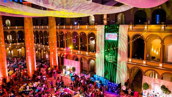 #2 Literary & Publishing Event Washingtonian's annual AT&T Best of Washington returned to the National Building Museum in June, and the food-focused event once again sold out. More than 60 restaurants participated, and proceeds went toward the Leukemia & Lymphoma Society. Syzygy Events added tropical decor for the party's 'Evening in Havana' theme. Guests sampled bites by restaurants like Compass Rose and Tiger Fork, posed in a Geico photo booth next to the company's root beer float station, and received personal poems written by the Haiku Guys & Gals. Title sponsor AT&T's virtual reality booth demonstrated the dangers of texting and driving. PenFed lounge passed out Cuban cigars, United Airlines Polaris Lounge gave guests personally engraved Stella Artois chalices, and the American Beverage Association sponsored the evening's invite-only Publisher's Reception. Next: Summer 2019