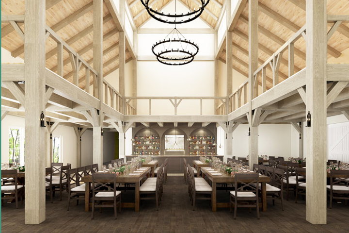 The rustic Briar Barn Inn in Rowley will open early this year.