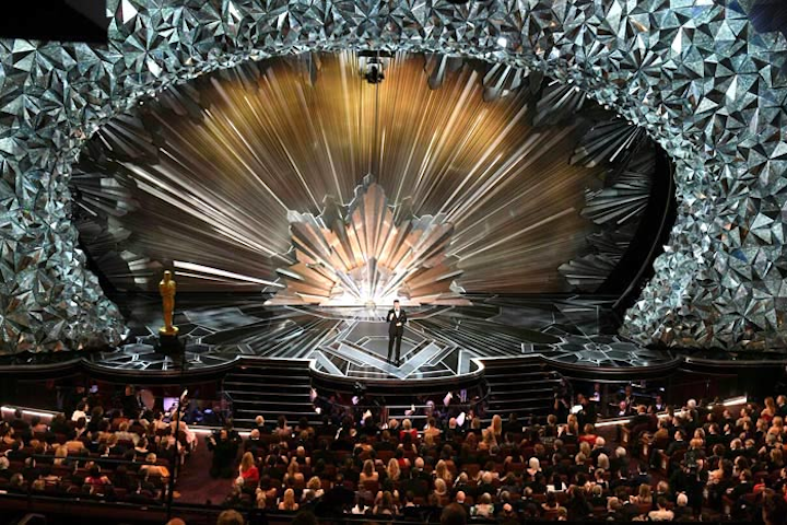 Jimmy Kimmel hosted the Oscars in 2017 and 2018 (pictured).
