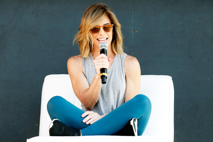 Celebrity trainer Jillian Michaels can educate crowds on proper nutrition, effective fitness, stress management, and balanced living.