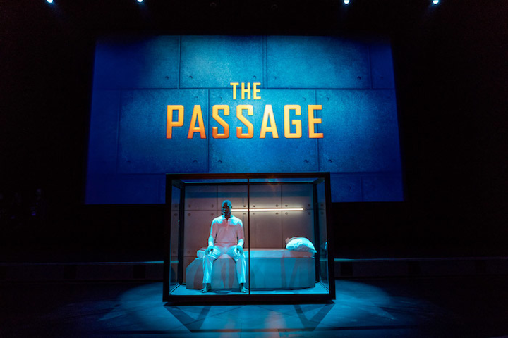 Fox hosted the premiere party for its new sci-fi drama The Passage on January 10 at the Broad Stage in Santa Monica. Designed and produced by Russell Harris Event Group, the event took guests inside the show's secretive Project Noah, a medical facility housing a dangerous virus. A creepy vignette before the screening depicted the facility's experiments; at the after-party, guests could pose for photo ops in similar custom-made cells. Other on-theme details included medical props and florals placed in beakers.