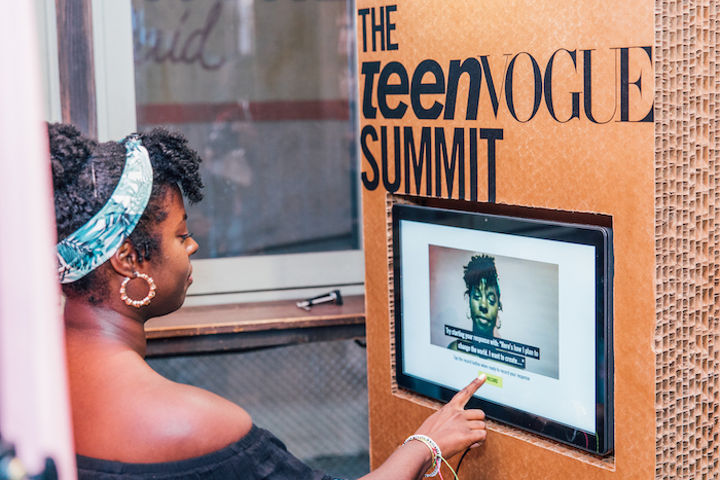 Generation Z sees it as their duty to make the world a better place and use their skills as content creators to do so. The Teen Vogue Summit in 2017 acknowledged this with a series of video booths where attendees could discuss how they plan to change to world.