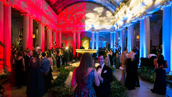 #10 Benefit Held in the Garden Court and Music Room, the Frick Collection's Young Fellows Ball raises money for the museum's programming and educational initiatives. Six hundred Frick supporters attend this event each year, which includes access to galleries that feature masterpieces by Manet, Degas, and Rembrandt, among others. Next: March 21, 2019