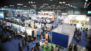 #6 Trade Show & Convention More than 52,000 dental professionals came to the Jacob K. Javits Center for the 2018 Greater New York Dental Meeting, the largest dental meeting in the country. Attendees, who hailed from all 50 states and 146 countries, had access to more than 1,700 exhibit booths, 350 seminars, and other educational programming. In 2019, the meeting will expand its exhibit space and add a Public Health Symposium and Business Forum. Next: November 29-December 4, 2019