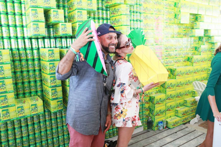 Sparkling water brand La Croix, back as a sponsor, will activate at the Grand Tasting with multiple mocktails. Providing more options for non-drinkers is one of the trends at this year's festival.