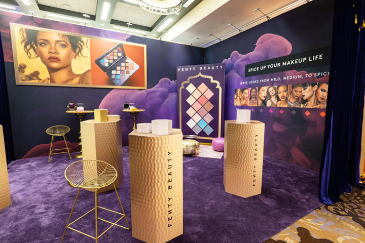 Makeup Looks 10 Trade Show Booth Designs From Beauty Brands Bizbash