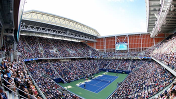 #1 Sports Event In 2018, nearly 700,000 tennis fans flocked to Queens to watch the U.S. Open in person over the course of two weeks, along with millions more tuning in to see the action on television and online. The internationally broadcast event garnered extra media attention last year when newcomer Naomi Osaka defeated Serena Williams in the finals. To mark the 50th anniversary of the tournament, the Billie Jean King National Tennis Center unveiled its five-year, $600 million transformation. Next: August 26-September 8, 2019