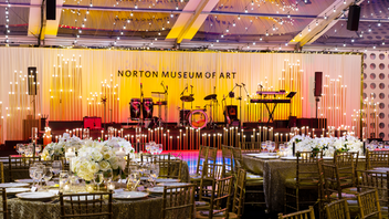New to the list Norton Museum of Art's annual gala had extra reason to celebrate this year thanks to the opening of the Museum's Foster & Partners-designed expansion. The February affair saw nearly 800 guests and raised more than $2 million. Pritzker Prize-winning architect Lord Norman Foster delivered remarks and honored Norton's executive director Hope Alswang for leadership during the expansion. Next: Winter 2020