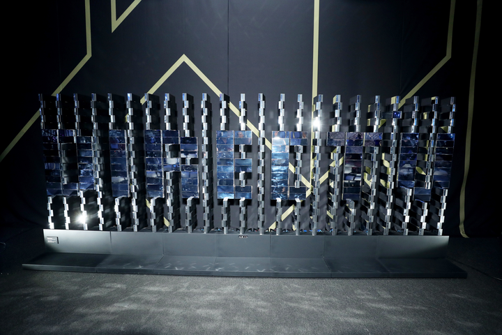 DirecTV Super Saturday Night took place the night before Super Bowl LIII in Atlanta in February. Breakfast, a New York-based studio of multidisciplinary designers and engineers, created a custom Brixel mirror installation that spelled out DirecTV. The kinetic, interactive sculpture was created with mirrored Brixels (customizable kinetic pixels) that were programmed to rotate. See more here: Super Bowl LIII: 27 Ways Brands Took Over Downtown Atlanta