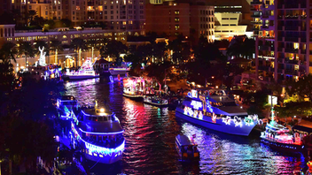 The Florida Festivals & Events Association awarded the Winterfest with 15 honors in 2018. The Seminole Hard Rock Hotel & Casino's Winterfest Boat Parade in Fort Lauderdale estimates that one million people watch the parade along the 12-mile route while even more tune in on television and via the online stream. The 2018 theme was Best of the 80s with the singer Huey Lewis serving as grand marshal. Next: December 2019