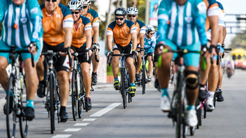 Six simultaneous, tri-county races departing from Hard Rock Stadium make up the Dolphins Cancer Challenge, the annual cycling event that raises money for the Sylvester Comprehensive Cancer Center. More than $3.4 million was raised during the 2018 challenge, bringing the cumulative total to more than $22.5 million. The event also includes a preceding Celebrity Golf Tournament. Next: April 6, 2019