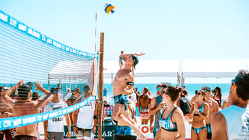 The 2019 Hawkers Model Volleyball Tournament, in which the city's notable modeling agencies compete in beach volleyball matches, featured appearances from Flo Rida and Adriana Lima at its opening party. The free and public event entertained Miamians for two days and benefits the Jack Brewer Foundation. Hawkers returned as the title sponsor while media sponsor iHeartRadio broadcast live from the courts for the fifth consecutive year. Next: February 2020