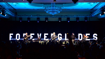 With the help of rock legend Jon Bon Jovi, the ForEverglades Palm Beach Benefit this February raised $3 million. Held at the Breakers, the event also featured an appearance by Everglades Foundation board member Jimmy Buffett, Florida Governor Ron DeSantis, golf legend and foundation board member Jack Nicklaus, and former astronaut Mark Kelly. Next: January 2020