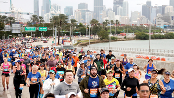 The Miami Marathon & Half Marathon featured a new title presenter, the fitness brand Life Time, in 2019, as more than 20,000 runners from all over the world took to greater Miami's streets. The event encouraged social media engagement under the hashtag #MiamiFamous while also positioning itself for a huge 2020. Organizers announced the Abbott World Marathon Majors, a series of six of the largest and most renowned marathons in the world, and Technogym as forthcoming partners. Next: February 9, 2020