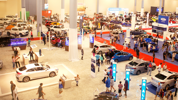 The 48th edition of the Miami International Auto Show, held at the renovated Miami Beach Convention Center, reported a 7 percent increase in ticket sales from 2016 (the 2017 edition was canceled due to Hurricane Irma). The show saw the debut of the Genesis 2019 G70 and Toyota's 2019 RAV4 and included popular exhibits Memory Lane, Havana Classics, Million Dollar Alley, Topless in Miami, Camp Jeep, and Car Boutique. Next: November 1-10, 2019