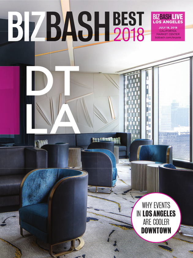 2018 Bizbash Best Downtown Los Angeles Bizbash