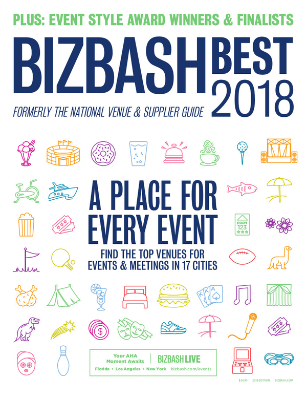 BizBash Magazine 2018 BizBash Best
