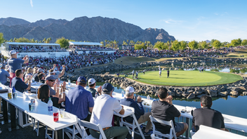 The P.G.A. Tour tournament in La Quinta is now known as the Desert Classic; it has previously been named the CareerBuilder Challenge and the Bob Hope Classic. Desert Classic Charities, the charitable entity that organizes the Workday-sponsored event, has contributed more than $60 million to a variety of Coachella Valley charitable organizations and the Eisenhower Medical Center. The 2019 edition, the tournament's 60th anniversary, added a 12,000-square-foot hospitality pavilion. Next: January 15-19, 2020