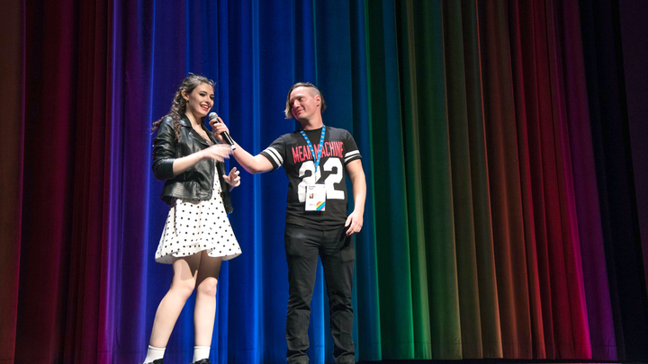 Trans actress Nicole Maines and director Brad Michael Elmore discuss the vampire film Bit, which had its world premiere at the Inside Out Toronto L.G.B.T. Film Festival. The 29th annual festival kicked off May 23 and runs through June 2.