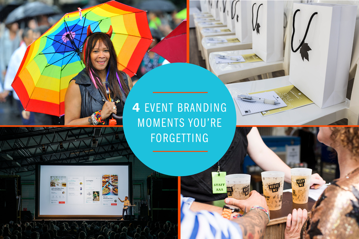 From glasses to giveaways, there are plenty of opportunities to tell your brand story.
