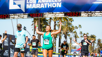 The race course for the Skechers-sponsored event runs from Dodger Stadium to the Santa Monica Pier, a scenic route that makes the marathon a destination for traveling athletes. About 24,000 runners from 50 states and more than 67 countries participate in the race, which wrapped up its latest edition in March. Next: March 8, 2020