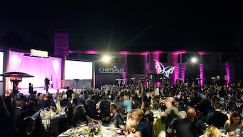 Since 2002, the ball has raised more than $16 million to support Chrysalis programs; it's the area's major fund-raising event for the homelessness and low-income support organization. Each June, more than 700 attendees gather at a private Mandeville Canyon estate; the 2018 event, which raised $1.8 million, honored Paramount Pictures C.E.O. Jim Gianopulos, Activision co-president Stacey Sher, and chef Curtis Stone. Next: June 1, 2019