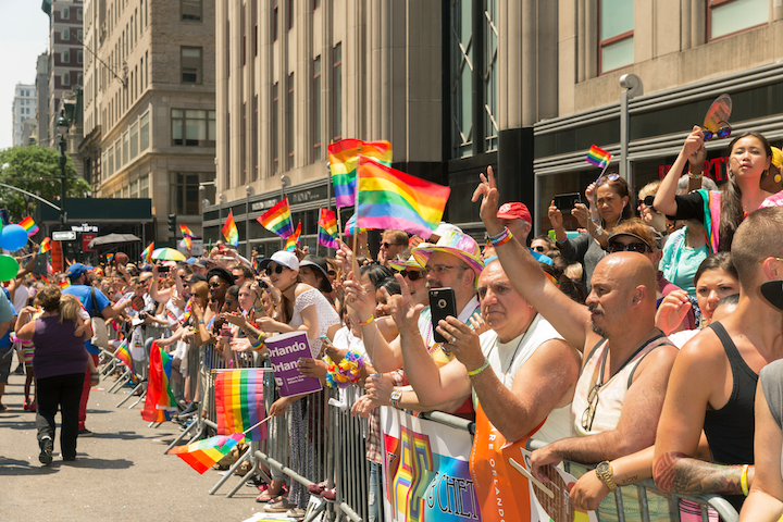 WorldPride New York festivities will run throughout June, culminating with the Pride March on June 30.
