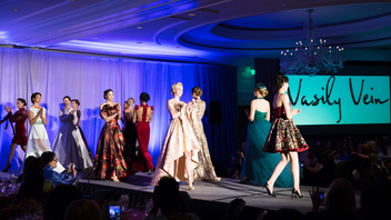 The guests are part of the fashion parade at Wine, Women, and Shoes, a fund-raiser for the St. Francis Memorial Hospital. Ticket-holders are encouraged to wear their most fabulous footwear for this daytime event at the Ritz-Carlton, San Francisco, and organizers recognize the best shoes during afternoon tea. In addition to a runway show, the event includes a pop-up bazaar featuring designer shoes, jewelry, and apparel. (Past brand partners include Trina Turk, Kendra Scott, and Joan Oloff.) In 2018, the event raised more than $200,000 for the St. Francis Foundation. Next: October 2019