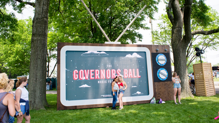 To promote this year's musical lineup, Governors Ball organizers mailed out VHS tapes with video clues like footage of the Atlas statue outside New York's Rockefeller Center, in addition to Instagram videos of images such as a dial-up window hissing AOL-era internet beeps.
